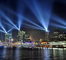 Brisbane at Night by Jack McClane
