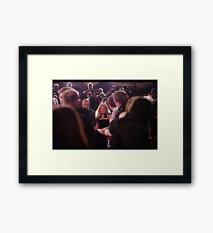 She's Madonna Framed Print