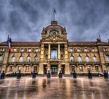 Palais du Rhin by Luke Griffin