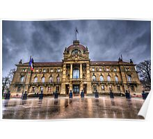 Palais du Rhin Poster
