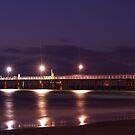 Glenelg Pier by Judith Cahill