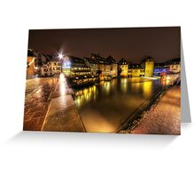 Lights on the Water Greeting Card