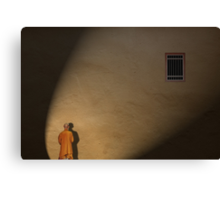Spotlight on the persecuted... not the jailer. Canvas Print