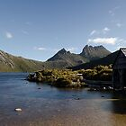 Cradle Mountain Boat Shed by Damien Seidel