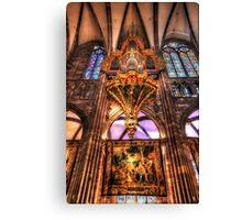 Cathedral Notre Dame De Strasbourg Canvas Print