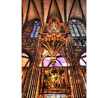 Cathedral Notre Dame De Strasbourg Photographic Print