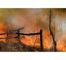 The Bush Fire Season Photographic Print