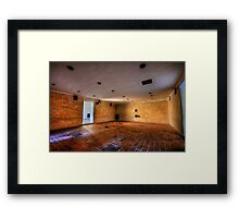 Brausbad - Gas Chamber, Daschau Concentration Camp Framed Print