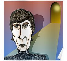 John Lennon Cartoon Caricature Poster