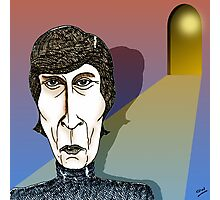 John Lennon Cartoon Caricature Photographic Print