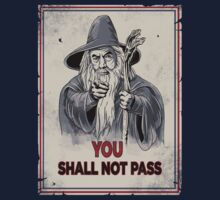 Uncle Gandalf- Lord of the Rings Shirt by spacemonkeydr