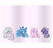 Weeny My Little Pony- Princesses Poster