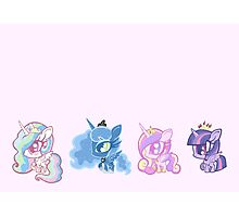 Weeny My Little Pony- Princesses Photographic Print