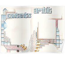 Ambit Magazine pages Poster
