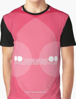 No016 My Christine minimal movie poster Graphic T-Shirt