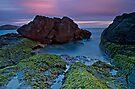 Fingal Bay Sunset by bazcelt