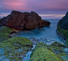Fingal Bay Sunset by bazcelt