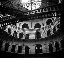 Panopticon, Kilmainham Gaol, Dublin by Lisa Hafey