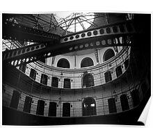 Panopticon, Kilmainham Gaol, Dublin Poster