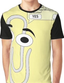 Clippy Graphic T-Shirt