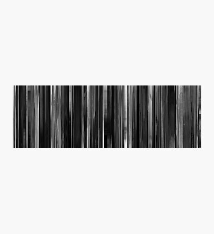 Moviebarcode: Das weiße Band (2009) Photographic Print