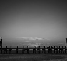 Without Pier 03, St Annes on Sea, Lancashire, UK by ExclusivelyMono