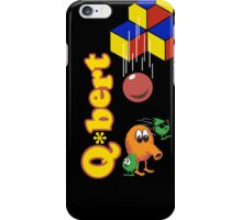 Arcade: Qbert iPhone Case/Skin