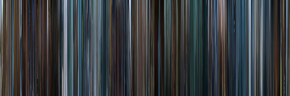 Moviebarcode: X-Men III The Last Stand (2006) by moviebarcode