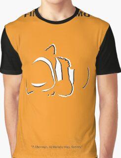 No054 My Finding Nemo minimal movie poster Graphic T-Shirt