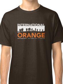 International Orange Summit 2015 San Francisco Architecture T-shirt Classic T-Shirt