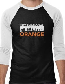 International Orange Summit 2015 San Francisco Architecture T-shirt Men's Baseball ¾ T-Shirt