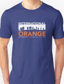 International Orange Summit 2015 San Francisco Architecture T-shirt Unisex T-Shirt