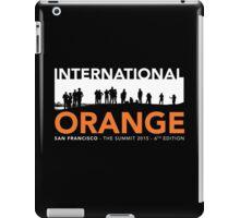 International Orange Summit 2015 San Francisco Architecture T-shirt iPad Case/Skin
