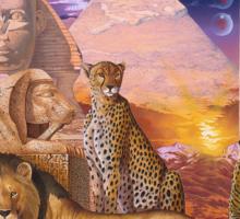 Pharaohs Pride Sticker