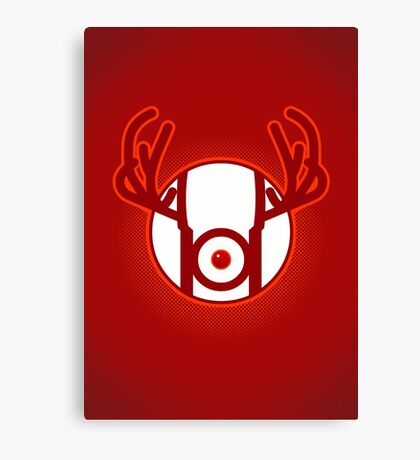 RED NOSED LANTERN Canvas Print