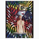 Rainbow Mask by Graeme  Stevenson
