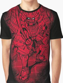 Red Warrior Graphic T-Shirt
