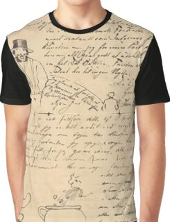 Theodor Kittelsen Letter to Jens Graphic T-Shirt