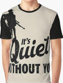 Quiet Graphic T-Shirt
