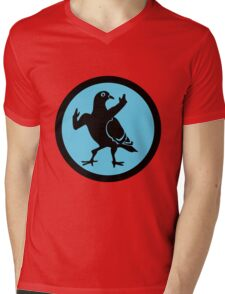 Pigeon Skank Mens V-Neck T-Shirt