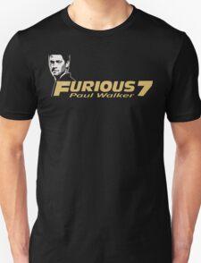 Furious 7 - Paul Walker T-Shirt
