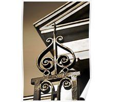 Charleston Wrought Iron  Poster