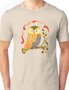 Lovely Cute Owl Unisex T-Shirt
