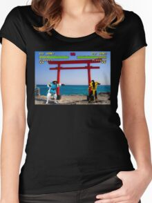 HD Kombat Women's Fitted Scoop T-Shirt
