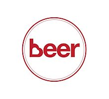 Love Beer Photographic Print