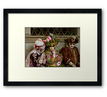 Carnavale di Venezia Masks V Framed Print