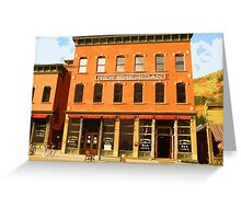 Down in the Town, Telluride Summer Greeting Card