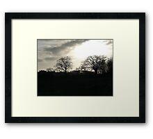 Alton Water at Dusk Framed Print