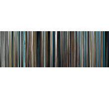 Moviebarcode: The Big Blue / Le grand bleu (1988) Photographic Print