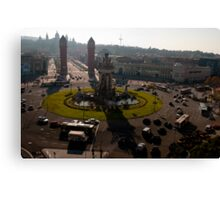 Placa Espana Canvas Print